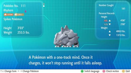 And I Needed 181 Rhyhorn to max out just one.