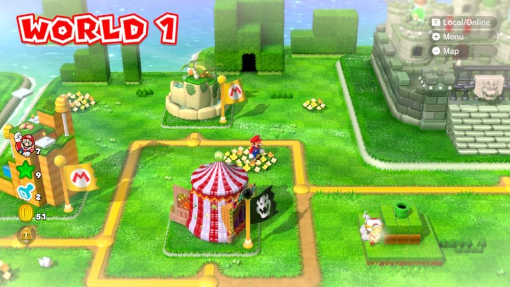 Mario3DWorldMap